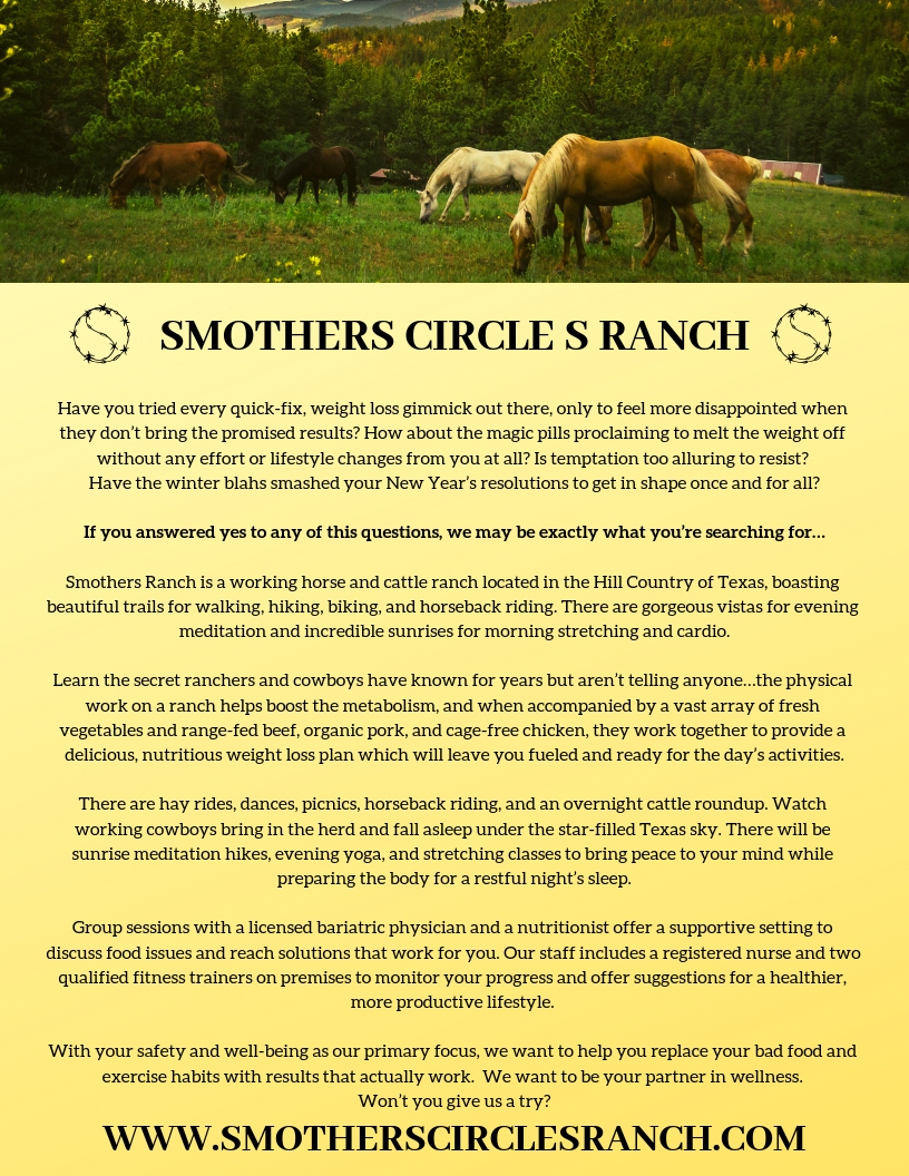 Smothers Ranch Brochure Final